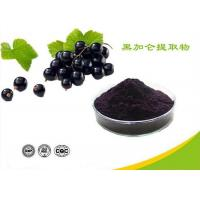 China Natural Water Soluble Freeze Dried Black Currant Extract Powder Anthocyanins on sale