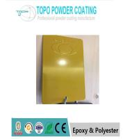 Buy cheap Outdoor Pure Polyester Powder Coating Honey Yellow High Glossy Thermosetting from wholesalers
