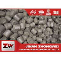Wholesale Chrome cast iron steel mill media for cement plant , customized size from china suppliers