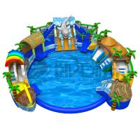 Wholesale Indoor & outdoor commercial grade inflatable water pool park from china suppliers