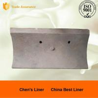 Wholesale Good Wear Resistance Ball Mill Liner Plate / Steel Liners for AG Mills and SAG Mills from china suppliers