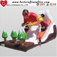 Wholesale Hot Sell Cool Sell Design Advertising Giant Inflatable Water Slide And Inflatable Slide For Adult For Sale from china suppliers