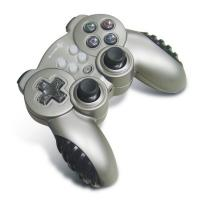 Wholesale Small Wireless PC Joystick Controller , 12 Button 4 Axis Double Vibration Gamepad from china suppliers