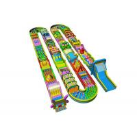 Custom Indoor Outdoor 5K Run Inflatable Obstacle Course For Kids