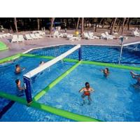 China Inflatable Water Volleyball Field For Swimming Pool Sports Games on sale