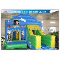 Wholesale Customized Small Inflatable Bouncy Castle With Slide for Indoor Party from china suppliers