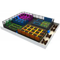 Wholesale Big Bounce Indoor Trampoline Park Equipment EU Standard With Foam Pit Block from china suppliers