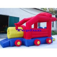Wholesale Cheap Fabric 6.5m Inflatable Truck Commercial Bounce Houses For Family Use from china suppliers