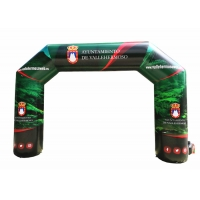 Wholesale 4x3x1m 150Z Fabric Arch Inflatable Advertising Signs from china suppliers