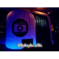 Wholesale Customized Inflatable Led Photo Booth with Lights for Party Night from china suppliers