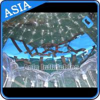 China TPU Transparent Inflatable Grass Zorbing Ball with Safety Harnesses on sale