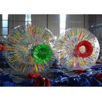 China Lawn Advertising Glowing Inflatable Zorb Ball Shinning For Adults on sale