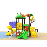 Buy cheap Childrens Climbing Kids Outdoor Plastic Slide Playground For Amusement from wholesalers