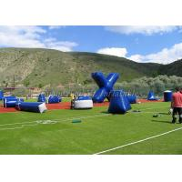 Wholesale Promotional Inflatable Paintball Field Game Which Military Airups Bunkers / Tank from china suppliers