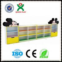 Wholesale school furniture kids cabinet daycare center furniture kids toys storage cabinet QX-199A from china suppliers