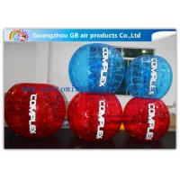 China Multi Color Inflatable Bumper Ball Zorb Ball Football For Adults Battle Sports on sale