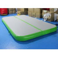 Wholesale Drop Stitch Inflatable Air Track , Gymnastics Air Mat Apply To Sport Game from china suppliers