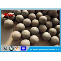 Quality 20mm to 150mm Low wear rate casting and forged grinding steel ball for sale