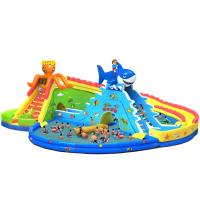 China Giant Entertainment Inflatable Water Park /Water Game Equipment on sale