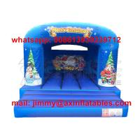 Wholesale Customized Bounce Castle Commercial Removable Christmas Theme Kids Inflatable Bounce House For Rental Business from china suppliers