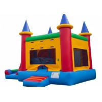 Quality Removable PVC Triple Play Moonwalk Double Slide Combo 3 Years Warrenty for sale