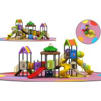 Wholesale Witch's House Childrens Outdoor Slide Playground Equipment Multicolored Slide Set from china suppliers