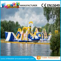 Wholesale Customized Inflatable Water Theme Park Aqua Park Equipment 0.9mm PVC Tarpaulin from china suppliers