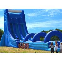 Wholesale Commercial Giant Inflatable Dry And Wet Slide For Adult / Dual Lane Inflatable Slip N Slide from china suppliers