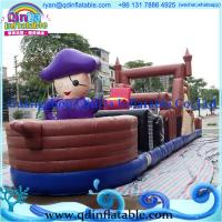 Wholesale Crazy Giant Inflatable Obstacle Course from china suppliers