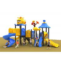 Buy cheap Popular Childrens Kids Outdoor Plastic Slide Playground Robot Welding Technology from wholesalers