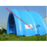 Quality PVC Giant Inflatable Tent Inflatable Air Supported Structures Giant Stage Cover Dome Tent for sale