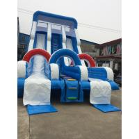China Outdoor Inflatable Theme Park Water Slide Giant Amusement Park Fun City Bounce House on sale