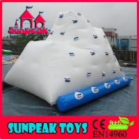 Wholesale G-246 2015 Inflatable Water Climbing Rock, Inflatable Ice Berg from china suppliers