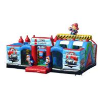 Wholesale Outdoor Blow Up Jump House  Inflatable Chopperville Play Center For Toddlers from china suppliers