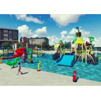Wholesale Swimming Pool Project Aqua Park Design Interactive Spray Park Equipment from china suppliers