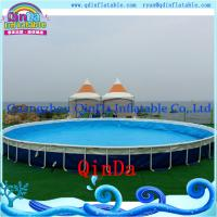 Buy cheap Outdoor Inflatable Frame Pool Above Ground PVC Frame Pools Swimming Pool from wholesalers