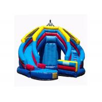 Quality Versatile Kids Inflatable Jumping Castle , Inflatable Toy Castle Combo Bounce House for sale