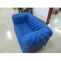 Wholesale Double Seat Blue Inflatable Sofa Chair PVC For Party Room from china suppliers
