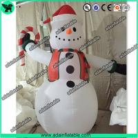 Wholesale Cute Snowman Inflatable,Snow man Cartoon ,Snow man Mascot, Christmas Decoration from china suppliers