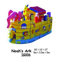 China Noah's Ark Inflatable Bounce House For Sale In Water-proof PVC Tarpaulin Material on sale