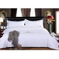 Wholesale Smooth Restaurant Or Hotel Bed Linen / White Hotel Collection Bedding from china suppliers