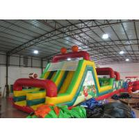 China Hot inflatable football obstacle course inflatable soccer obstacle course inflatable obstacle course sport game on sale
