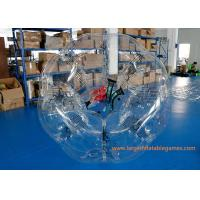 Wholesale TPU Inflatable Bubble Ball Customized Size For Amusement Park Play from china suppliers