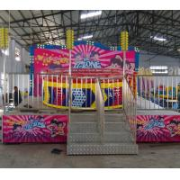 Wholesale Theme Parks Breakdance Amusement Ride Mini Tagada Disco 9.5kw Power 8p Capacity from china suppliers