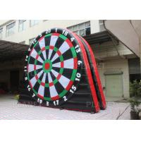 5mH Interactive Inflatable Sports Games Blow Up Soccer Dart Board With Velcro