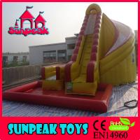 Wholesale WL-1824 Hot Sale Inflatable Slide Combo, Giant Inflatable Water Slide For Sale from china suppliers