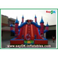 Wholesale Red Mickey Mouse Inflatable Water Slide 0.5mm PVC L6 x W3 x H5m from china suppliers