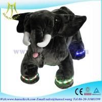 Wholesale Hansel plush motorized animals battery operated ride animals from china suppliers