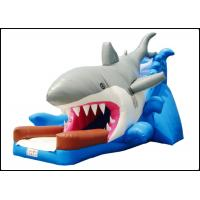 Wholesale Large Giant Commercial Shark Bouncy Castle with Slide for Kids Shark Inflatable Bouncy Playground from china suppliers