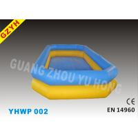 Wholesale Customized Yellow Family Kids Inflatable Water Pools YHWP-002 with EN14960, EN71 from china suppliers